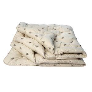 """Одеяло """"Верблюжья шерсть"""" облегченное 1.5 сп."""