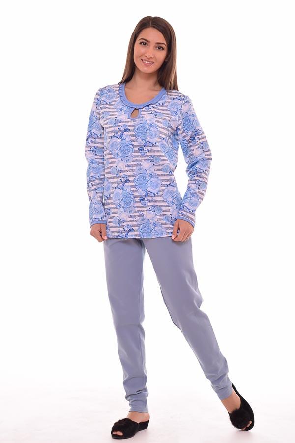 Пижама женская 1-101б (голубой)