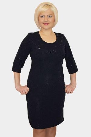 Платье женский П326.1 синий
