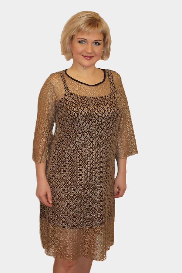 Платье женское П1095.2 последний размер