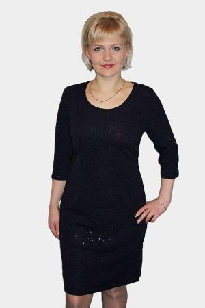 Платье женское П565 черный