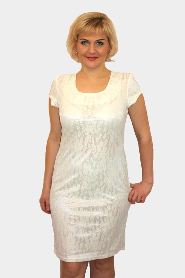 Платье женское П459 атлас