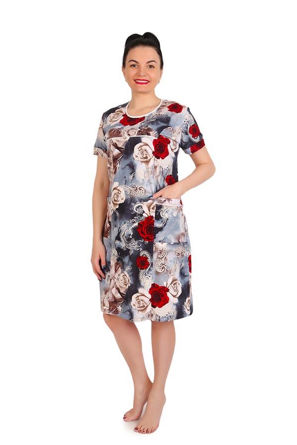 Платье Павлина Розы К-92