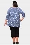 Блуза со сборкой 7125