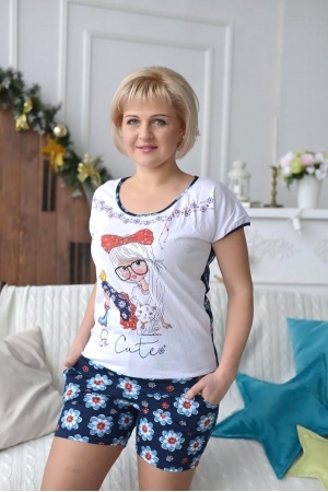 Пижама женская П723.1