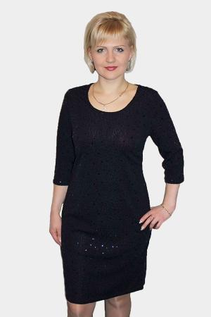 Платье женское П326 черный