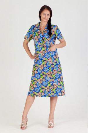Платье из бязи короткий рукав